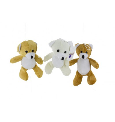 Assortiment peluches ours 17 cm