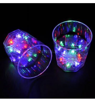Set de 2 verres Shooters LED