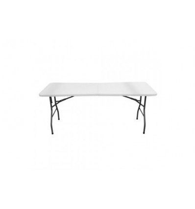 Table Appoint Pliable Blanche 180 Cm